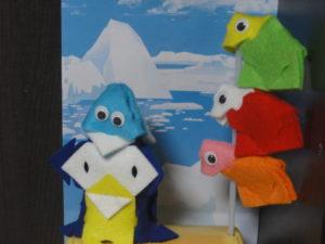 3Dクラフト ビビッドカラー ペンギンキット
