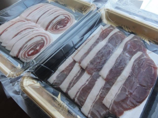 猪肉 天然 福岡県産 食べ比べセット ロース150g、バラ150g