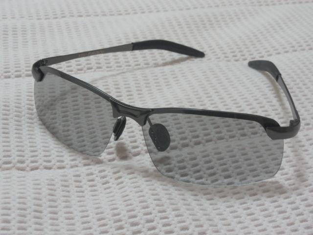 KIN-FUKUROU ® 感光変色 全天候適用 偏光レンズ【 ドライバー専用 】 UV400 #3043(変色)