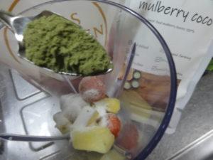 桑の葉 mulberry coco