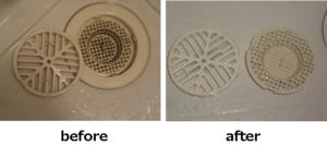 Pix 浴室用・台所用 排水口クリーナー 強力発泡でスッキリきれい! 3包入 しつこい汚れもカンタン洗浄