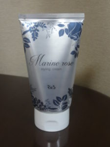 Marine rose styling cream