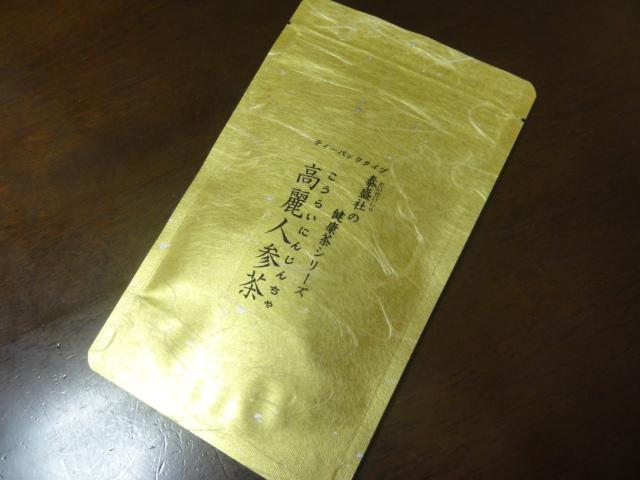 高麗人参茶 ティーパックタイプ