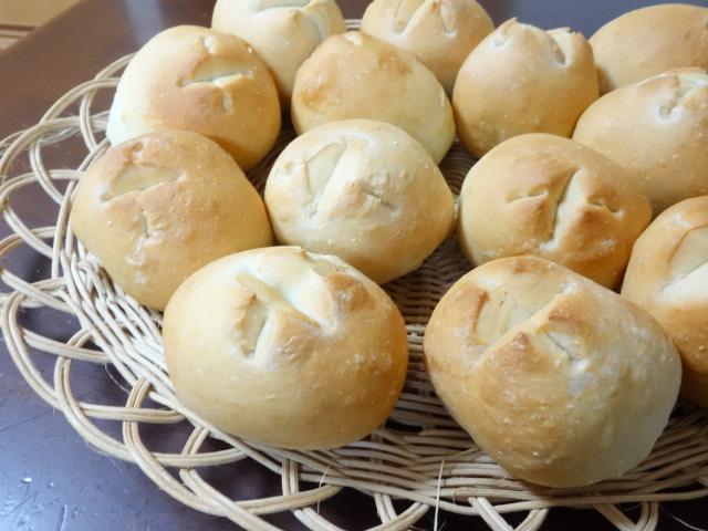 もちっとしっとり♪💛山芋100%ぷちパン